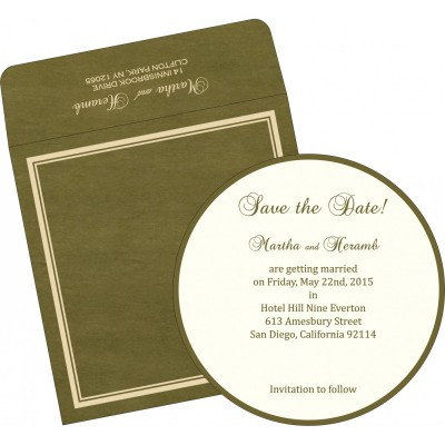 Save The Date Cards STD-8204C - 123WeddingCards