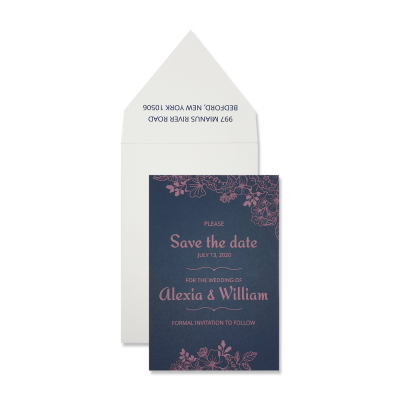 Save The Date Cards 7300 - 123WeddingCards