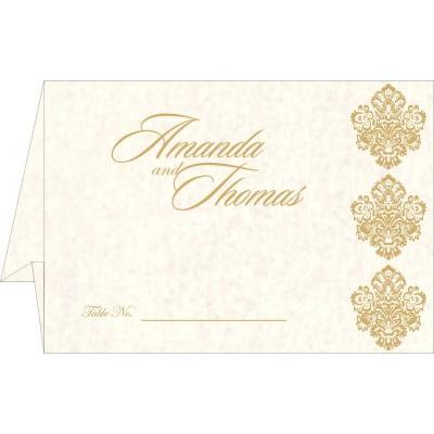 Place Cards 7165 - 123WeddingCards