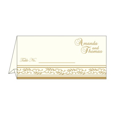 Place Cards TC-8202D - 123WeddingCards