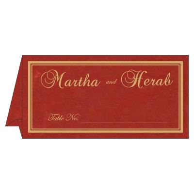 Place Cards TC-8203C - 123WeddingCards