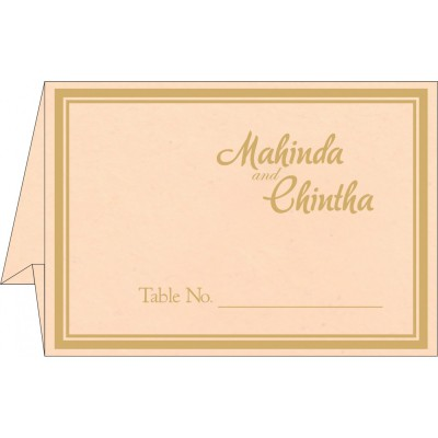 Place Cards TC-8203E - 123WeddingCards