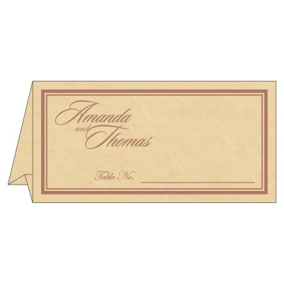 Place Cards TC-8203G - 123WeddingCards
