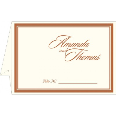 Place Cards TC-8204A - 123WeddingCards