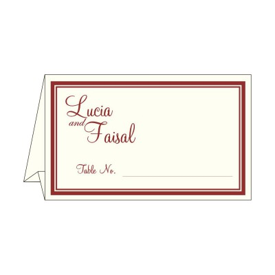 Place Cards TC-8204B - 123WeddingCards