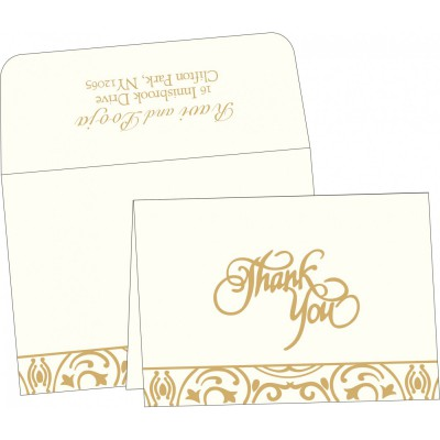 Thank You Cards 7012 - 123WeddingCards