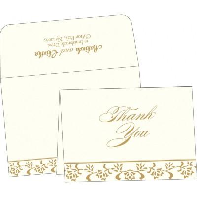 Thank You Cards 6445 - 123WeddingCards