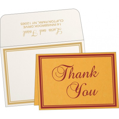 Thank You Cards TYC-8203A - 123WeddingCards