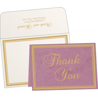 Thank You Cards TYC-8203H - 123WeddingCards