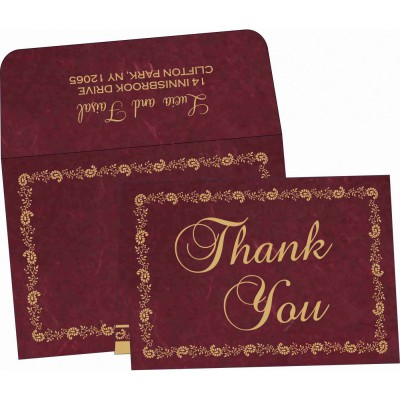 Thank You Cards - TYC-8208A