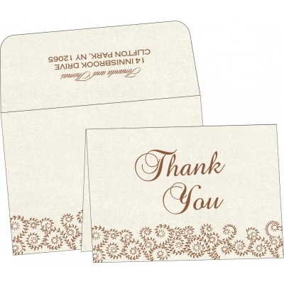 Thank You Cards - TYC-8217O
