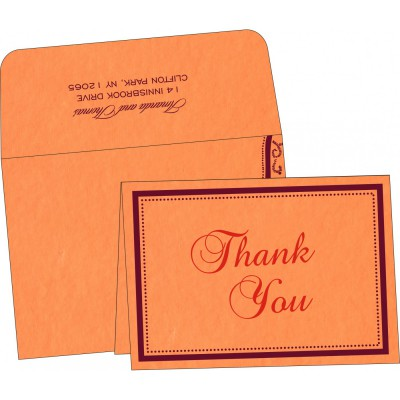 Thank You Cards - TYC-8219B