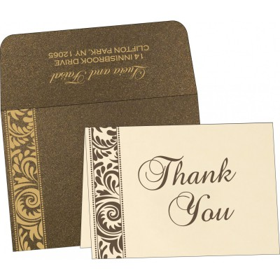 Thank You Cards - TYC-8235K