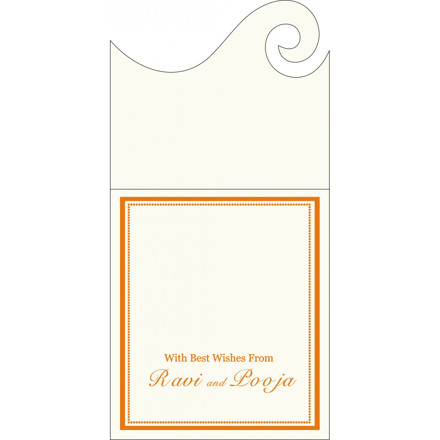 Money Envelopes : ME-1183 - 123WeddingCards