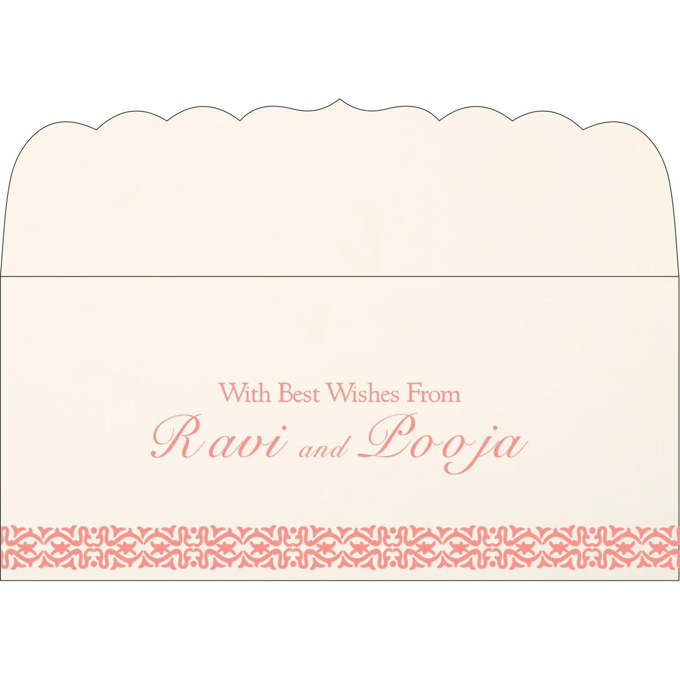 Money Envelopes : ME-1221 - 123WeddingCards