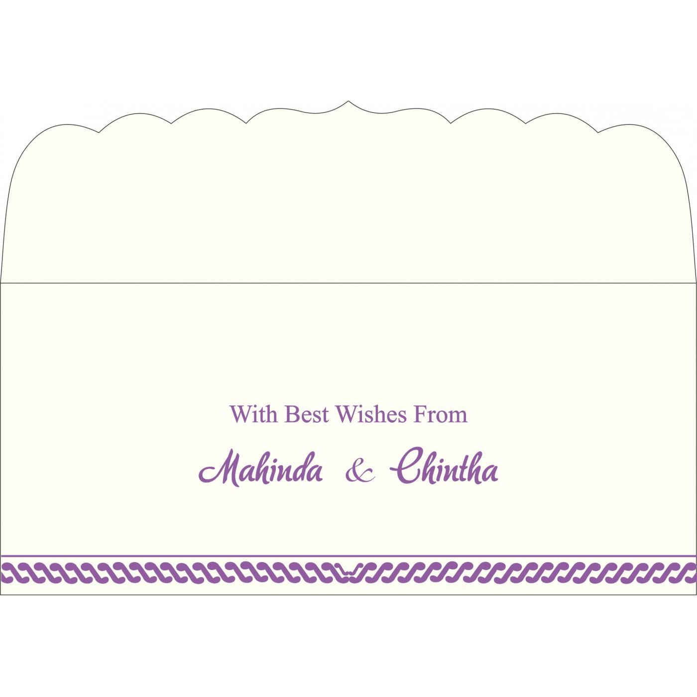Money Envelopes : ME-1327 - 123WeddingCards