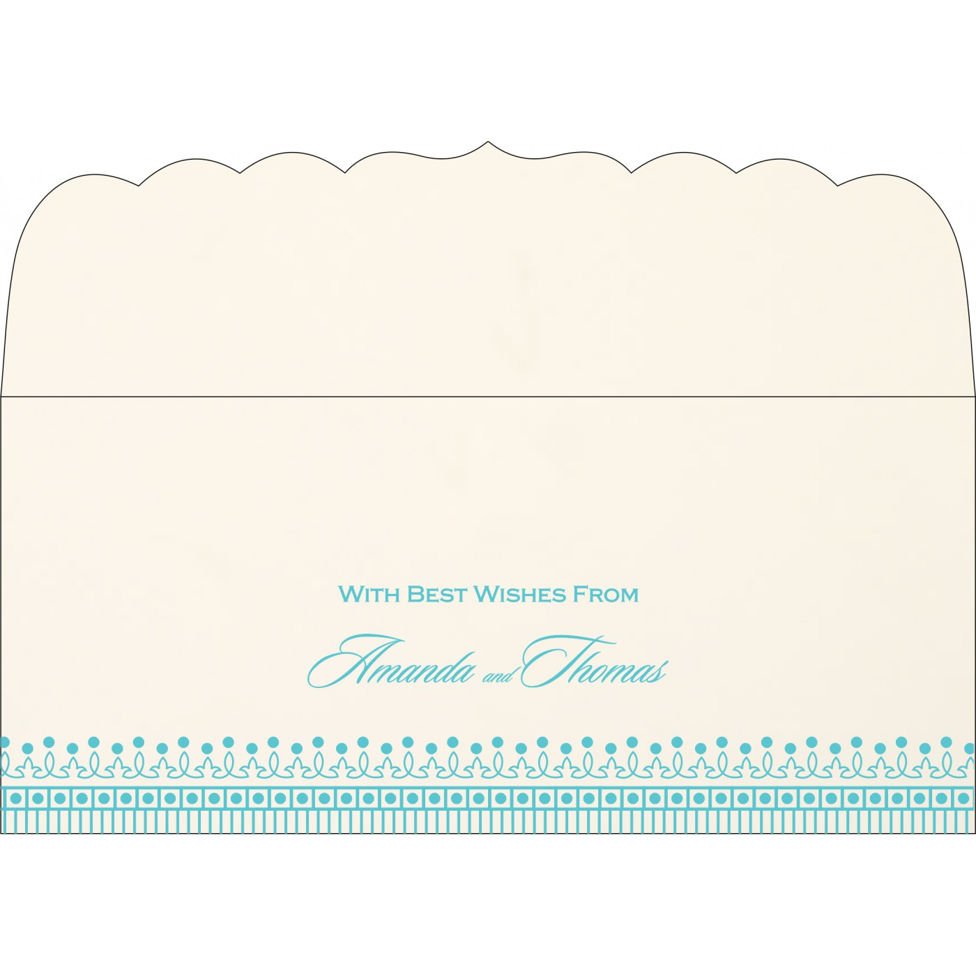 Money Envelopes : ME-1338 - 123WeddingCards