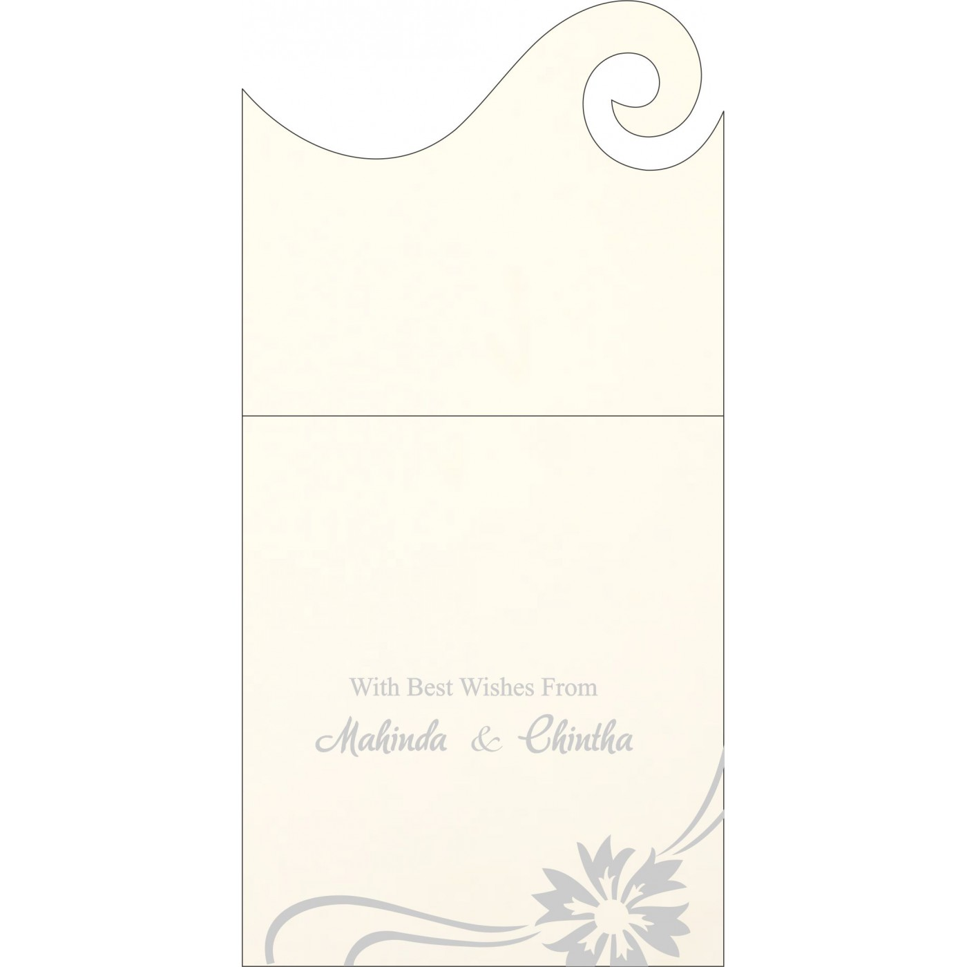 Money Envelopes : ME-1380 - 123WeddingCards