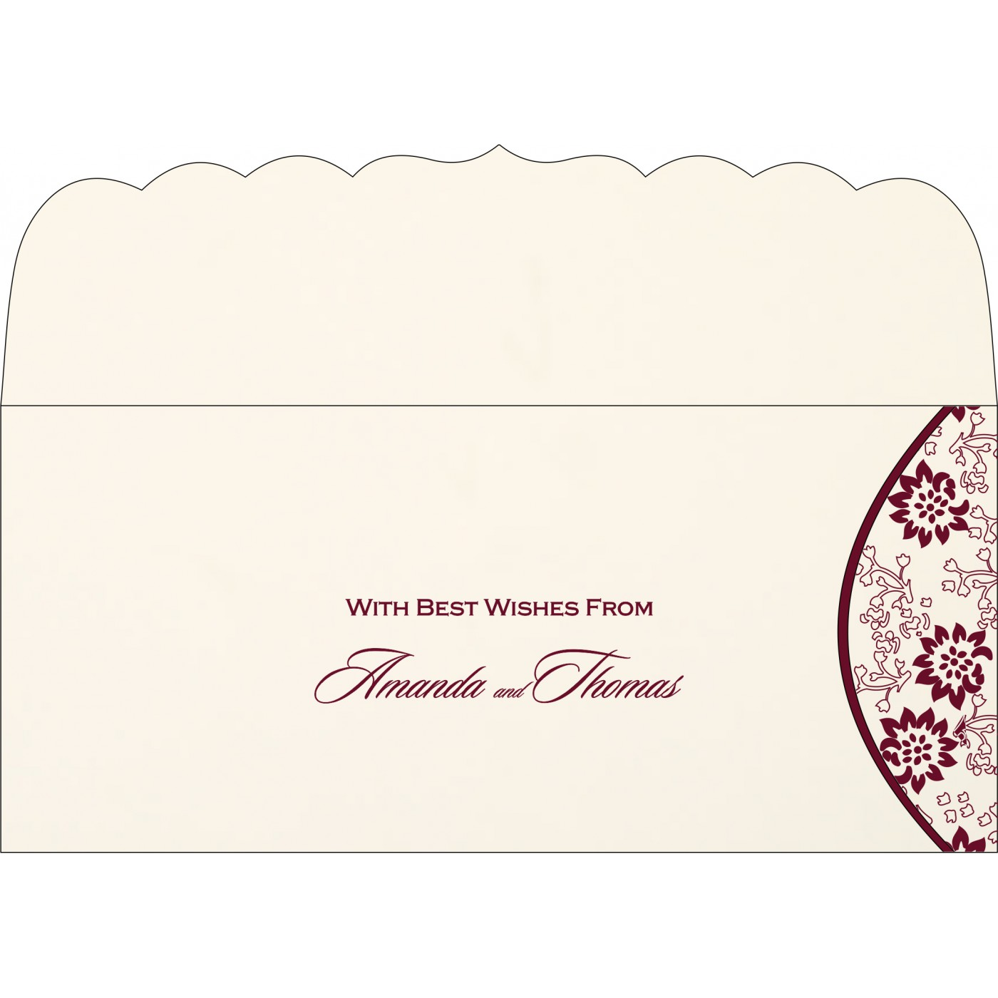Money Envelopes : ME-1391 - 123WeddingCards