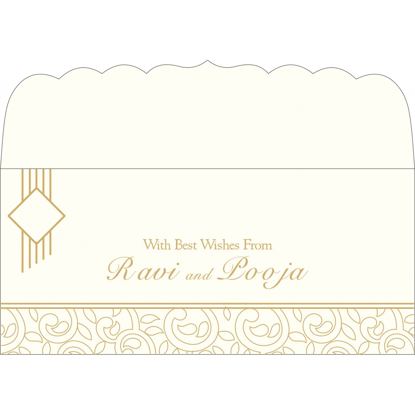 Money Envelopes : ME-1438 - 123WeddingCards