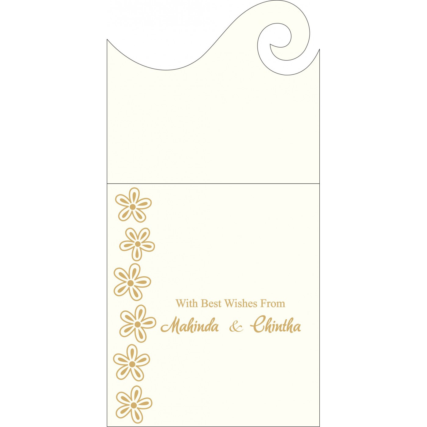 Money Envelopes : ME-1439 - 123WeddingCards