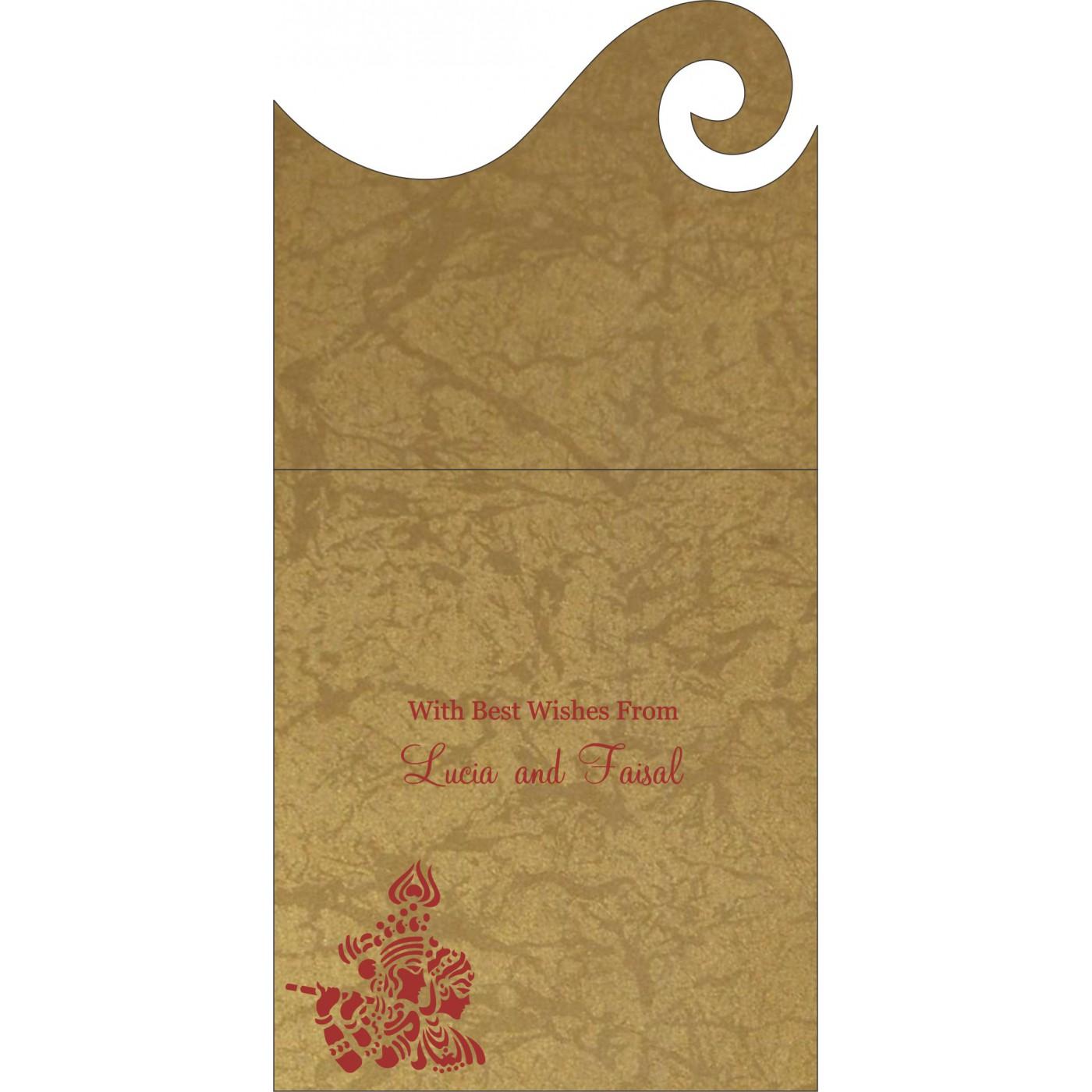 Money Envelopes : ME-1509 - 123WeddingCards