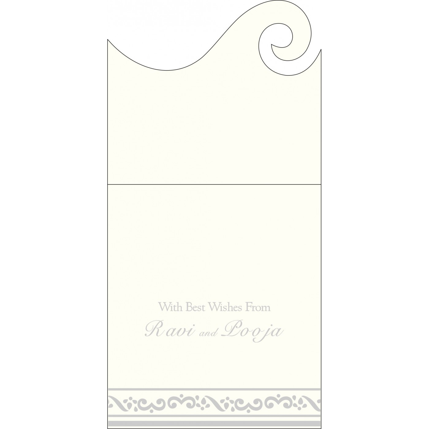 Money Envelopes : ME-2016 - 123WeddingCards