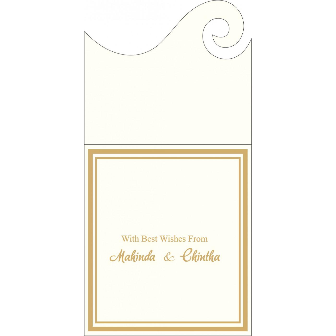 Money Envelopes : ME-2076 - 123WeddingCards