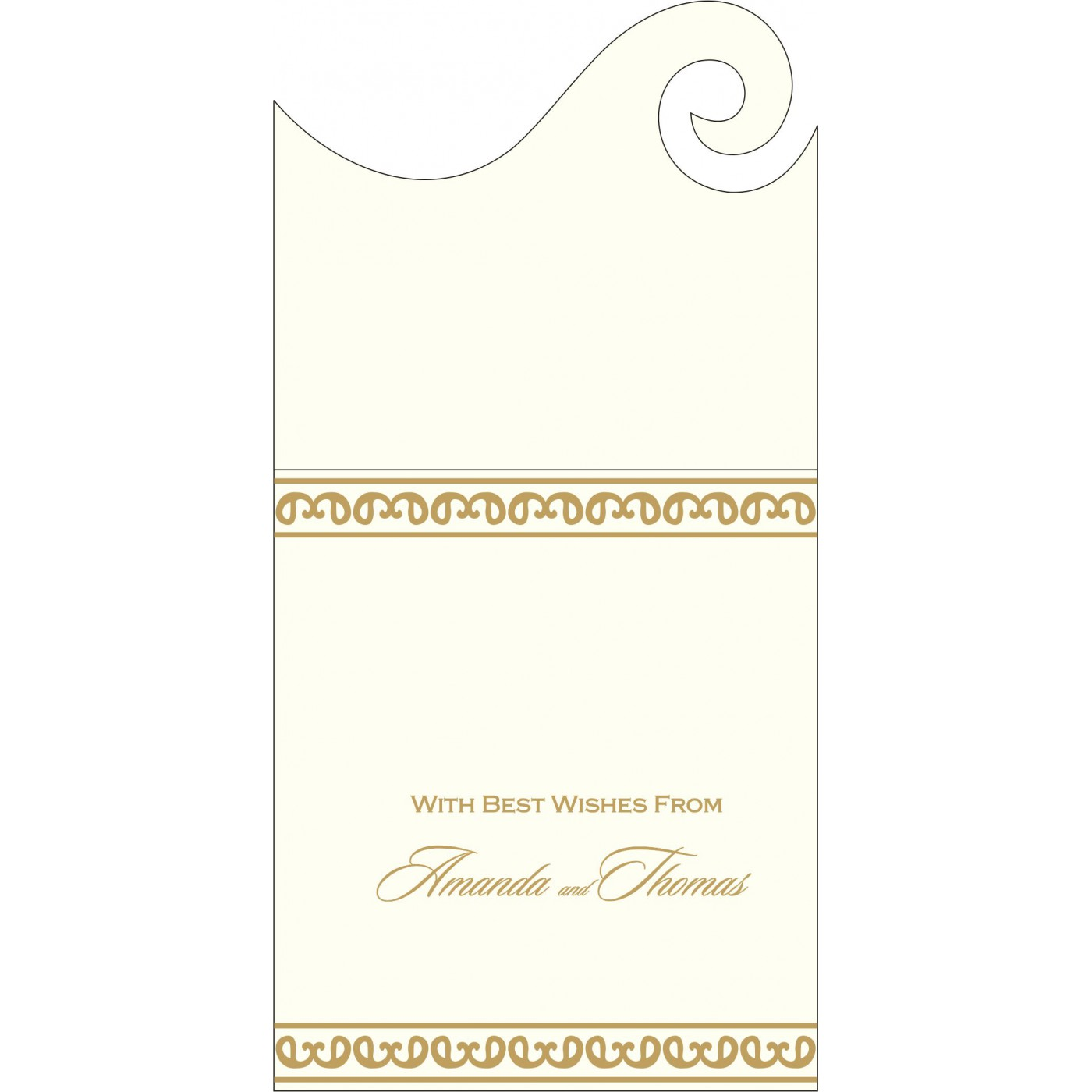 Money Envelopes : ME-2205 - 123WeddingCards