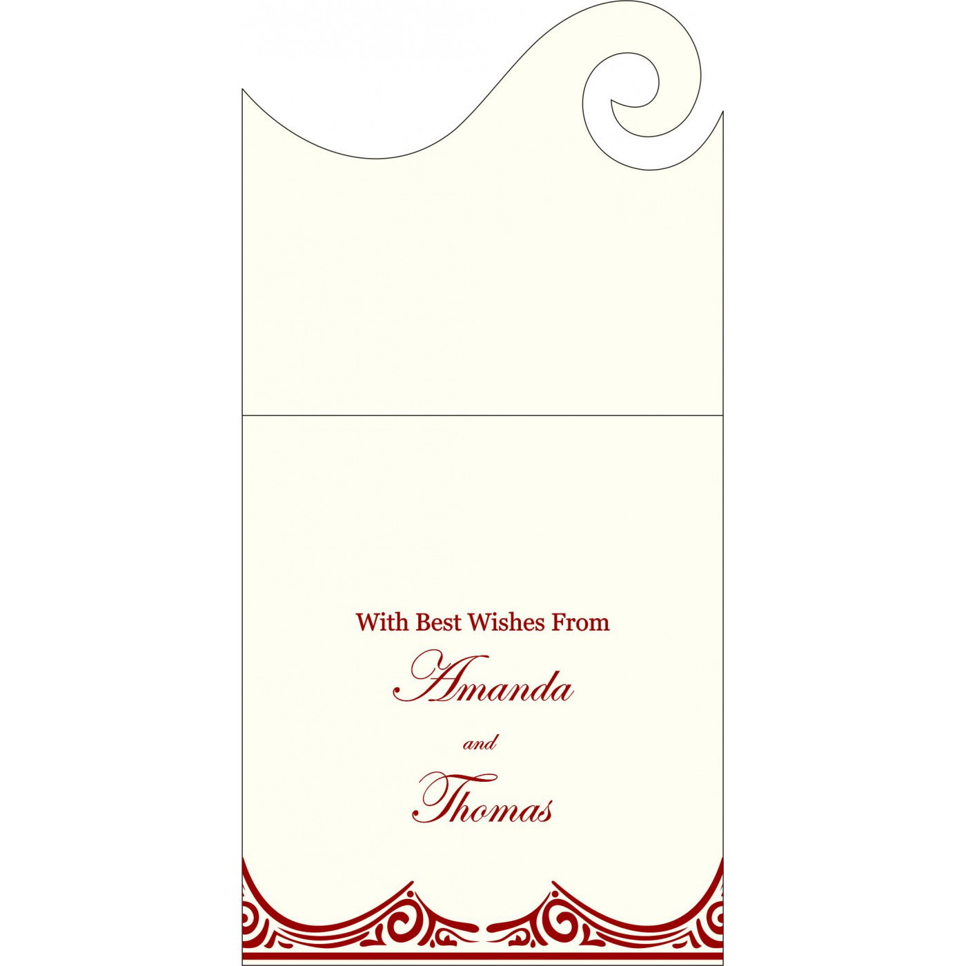 Money Envelopes : ME-2207 - 123WeddingCards