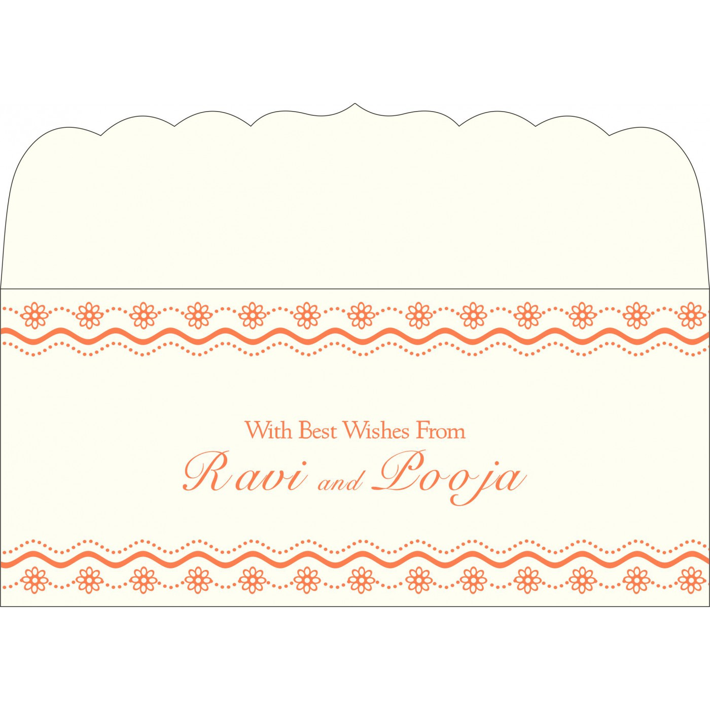 Money Envelopes : ME-2214 - 123WeddingCards