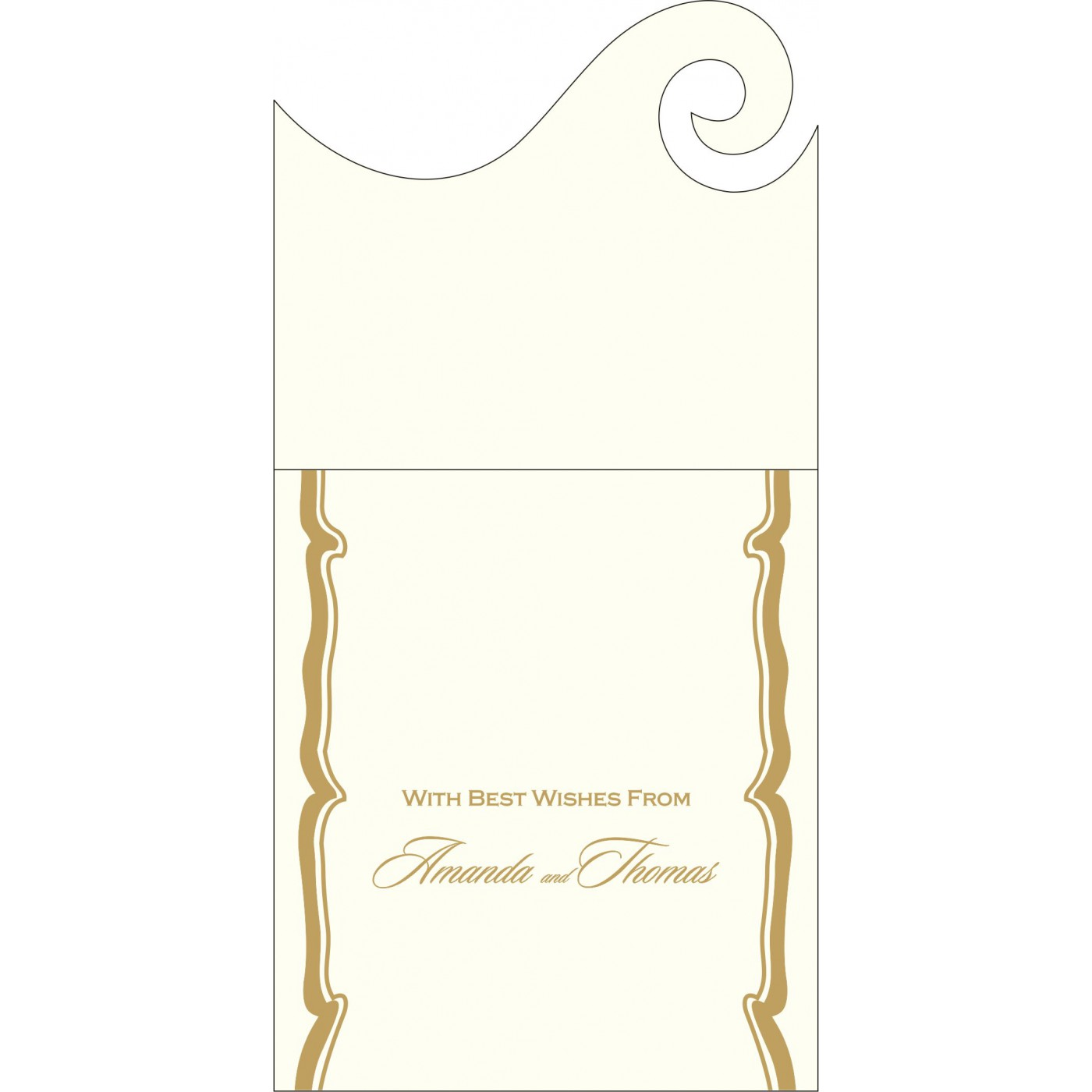 Money Envelopes : ME-2219 - 123WeddingCards