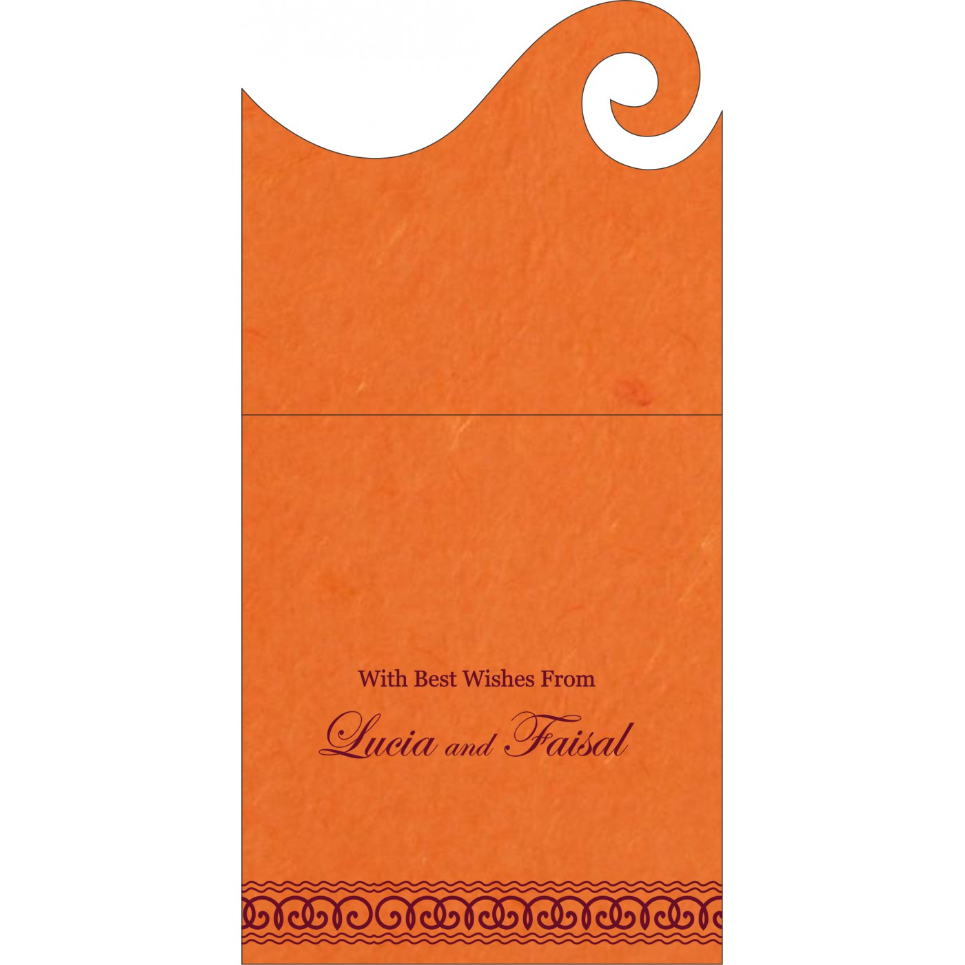 Money Envelopes : ME-5002A - 123WeddingCards