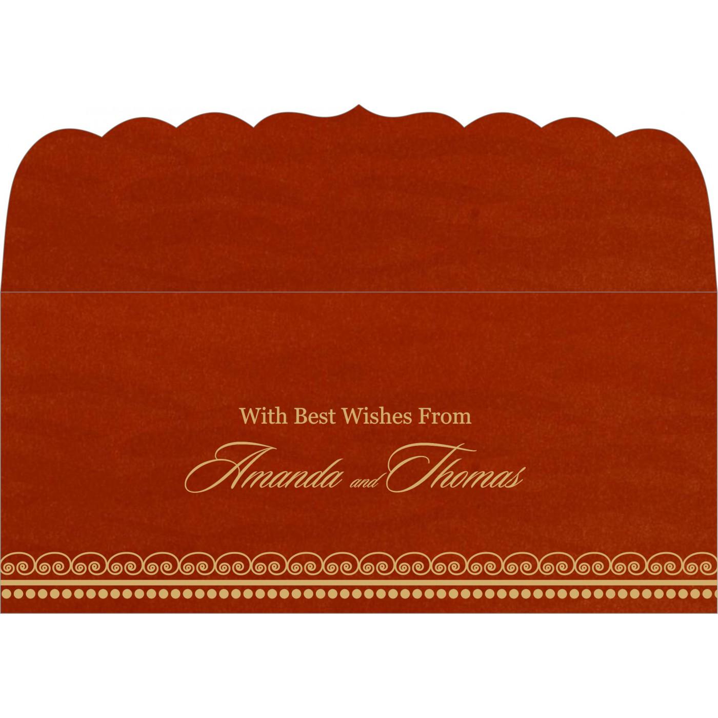 Money Envelopes : ME-5009B - 123WeddingCards