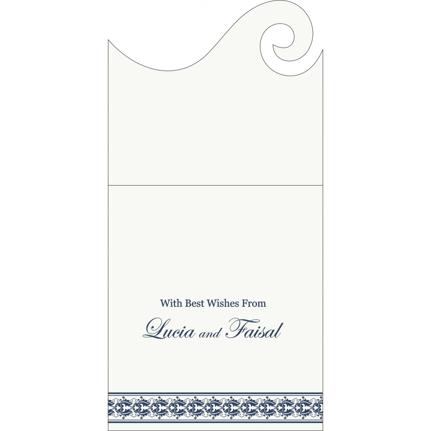 Money Envelopes : ME-5010A - 123WeddingCards