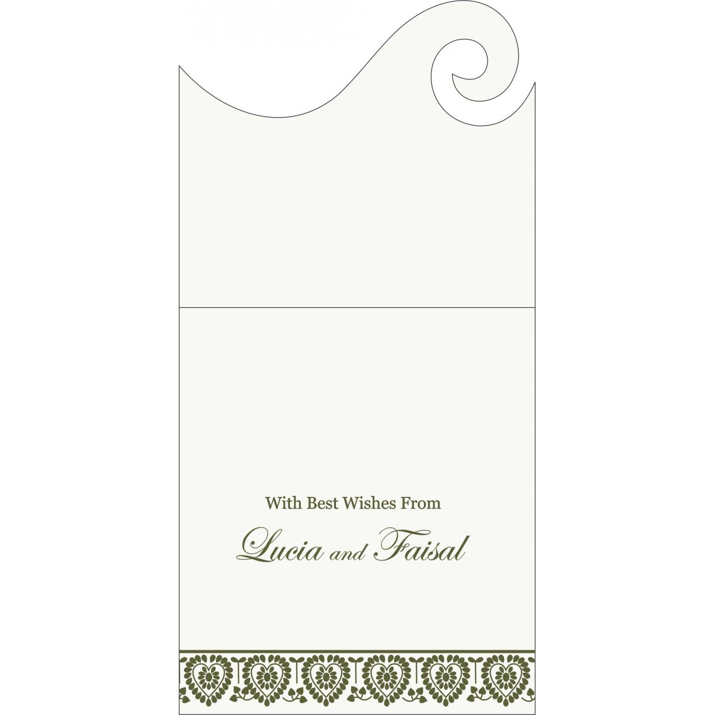 Money Envelopes : ME-5012A - 123WeddingCards