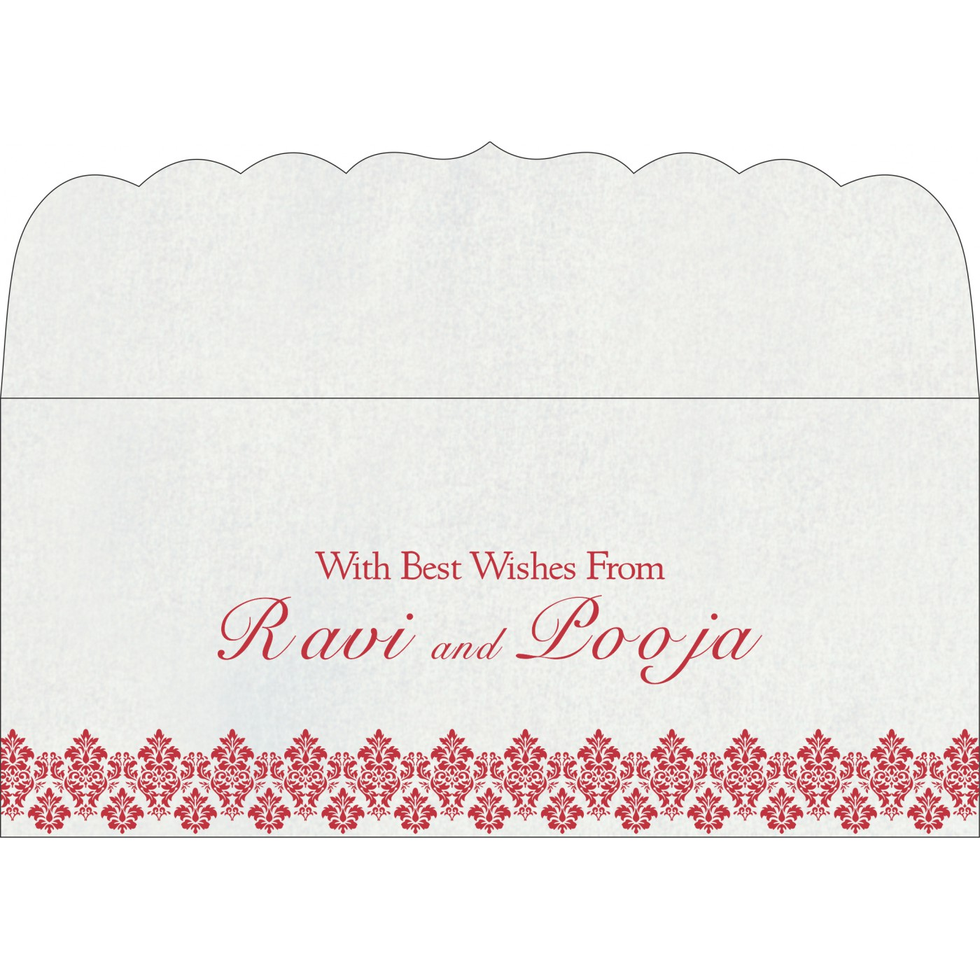 Money Envelopes : ME-5016D - 123WeddingCards