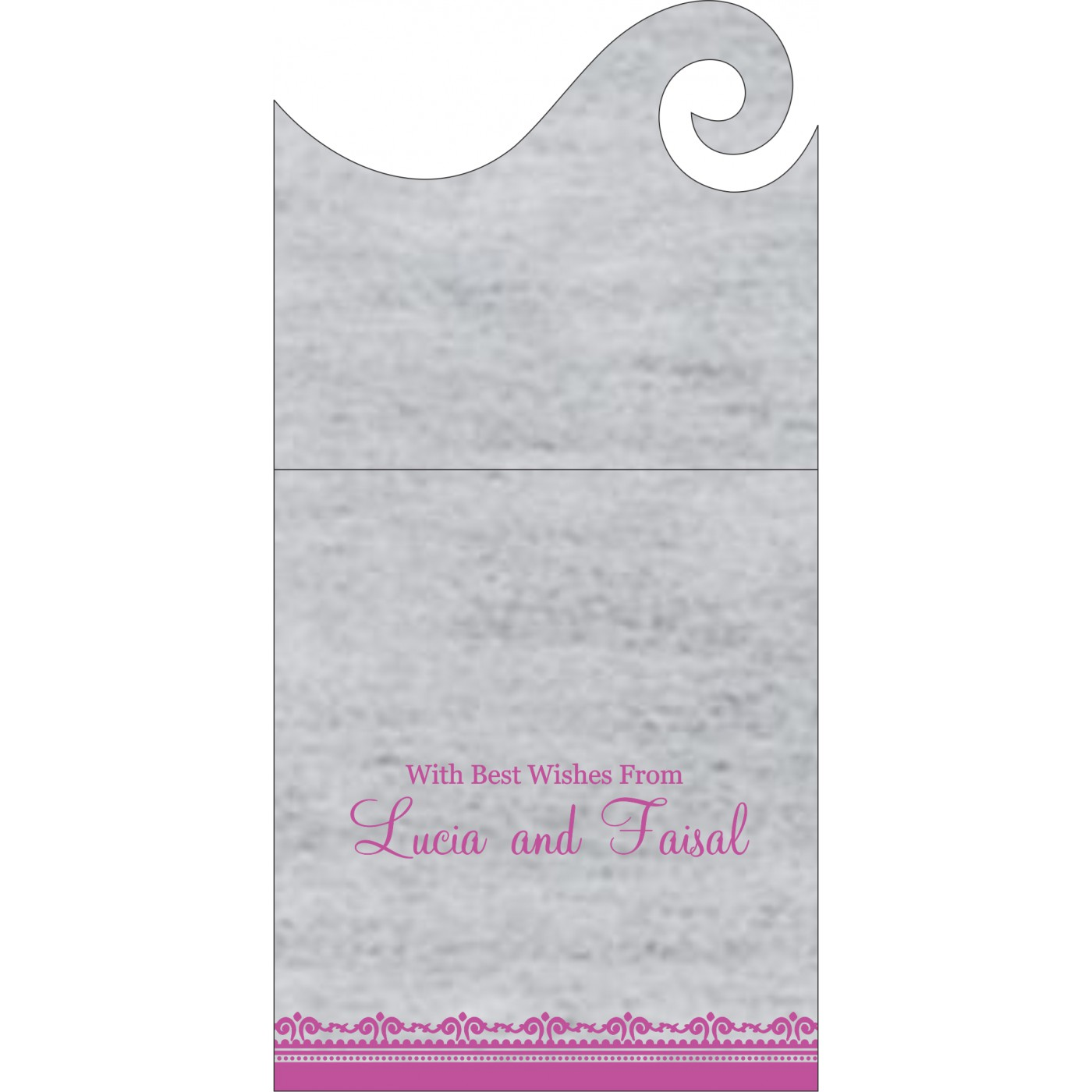 Money Envelopes : ME-8205A - 123WeddingCards