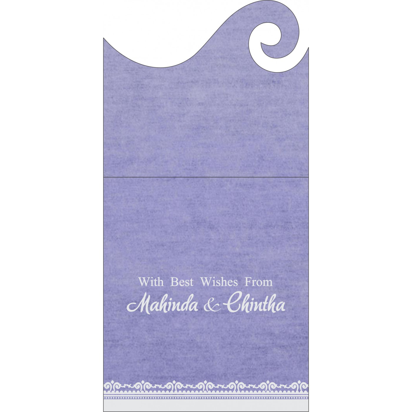 Money Envelopes : ME-8205F - 123WeddingCards