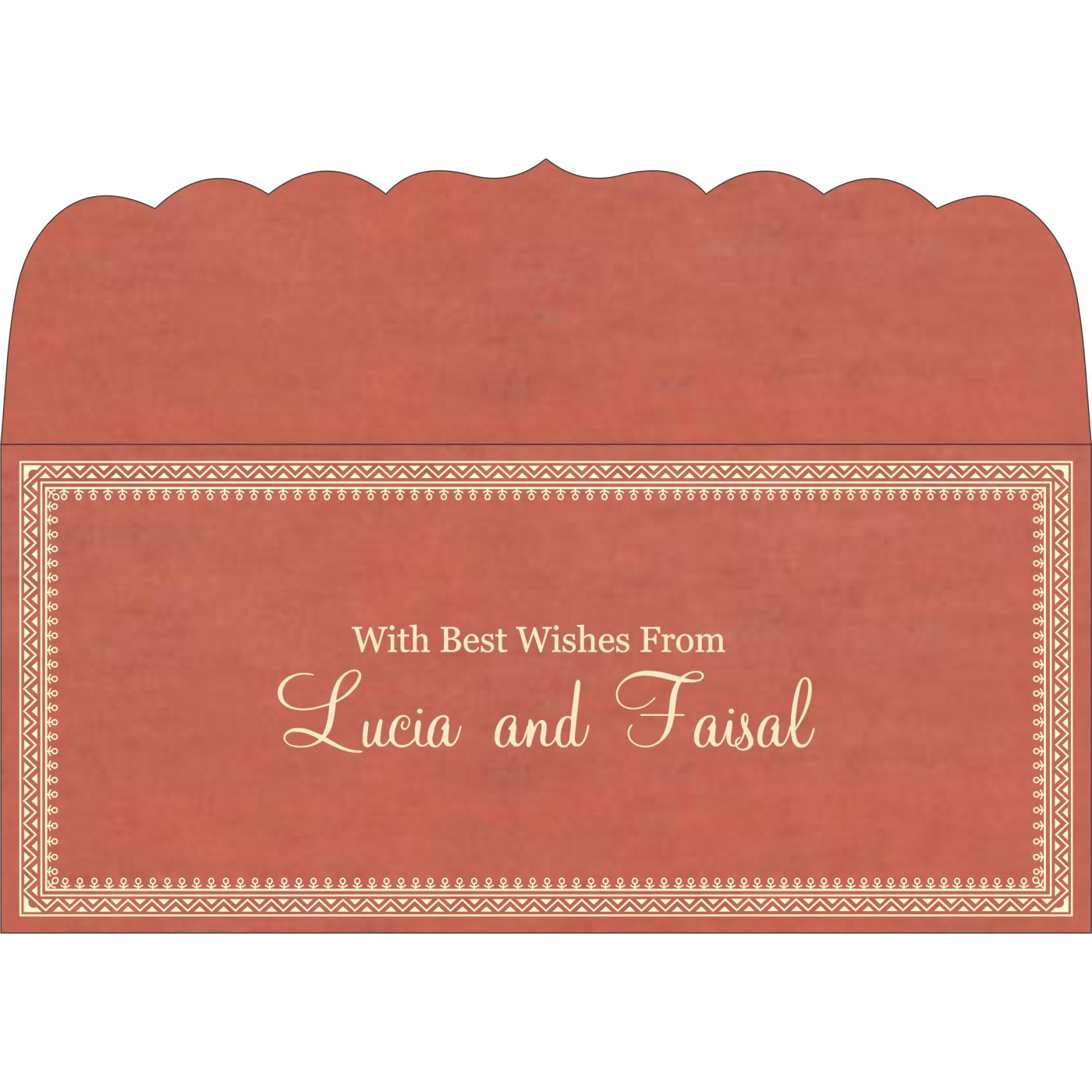 Money Envelopes : ME-8205M - 123WeddingCards