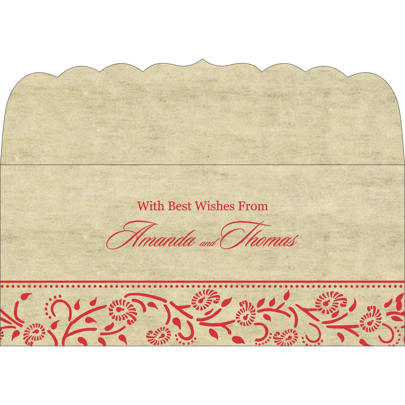 Money Envelopes : ME-8206C - 123WeddingCards