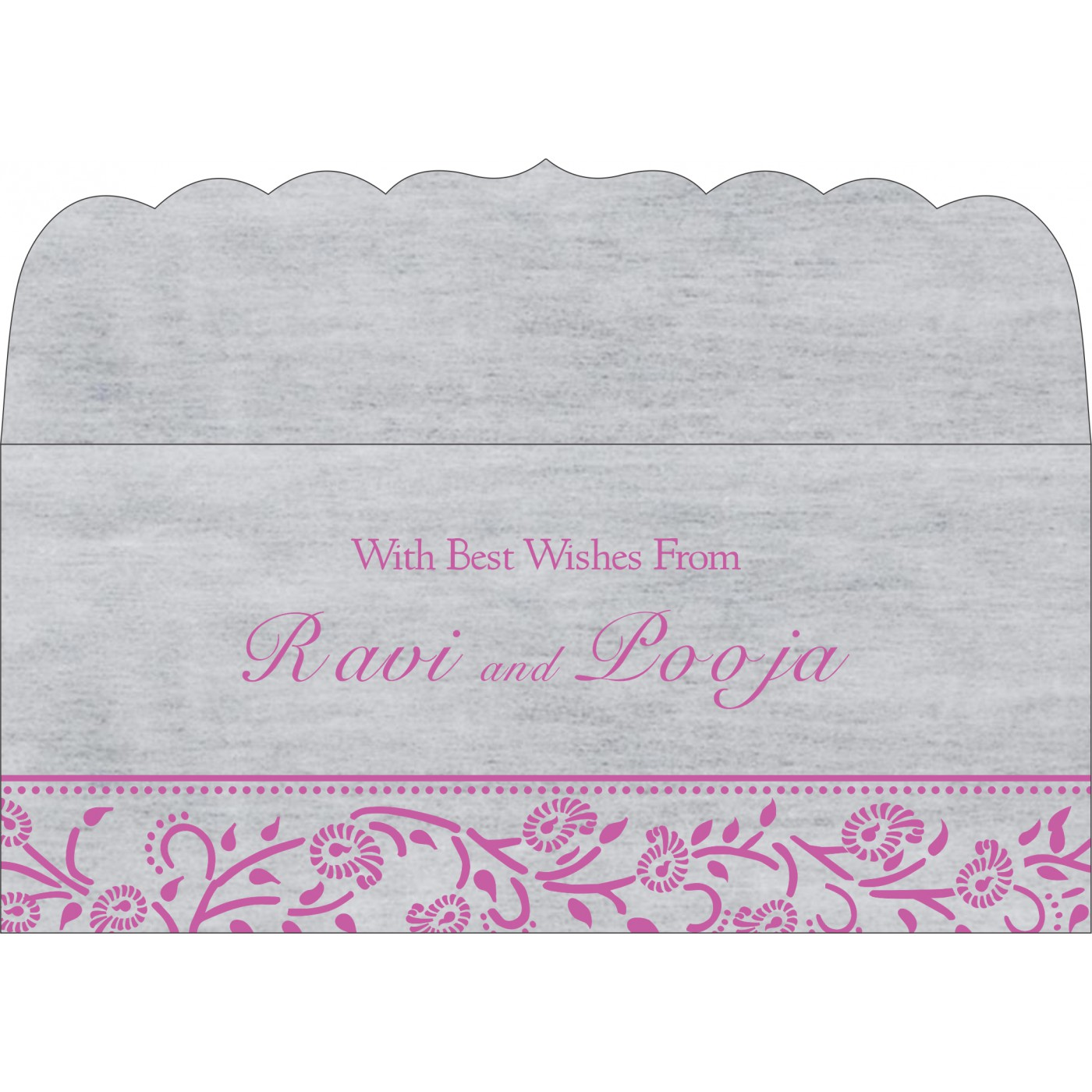 Money Envelopes : ME-8206F - 123WeddingCards