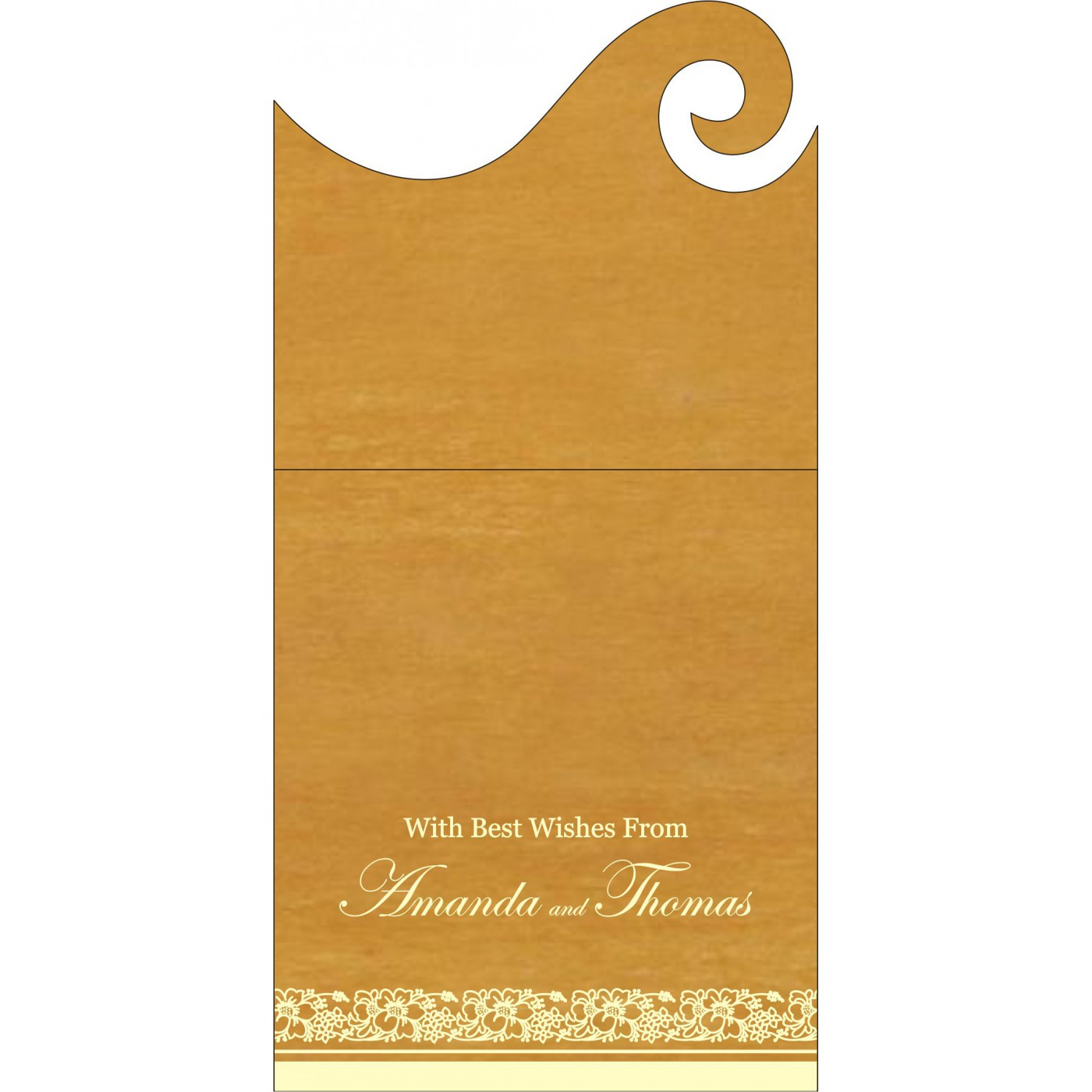 Money Envelopes : ME-8207F - 123WeddingCards