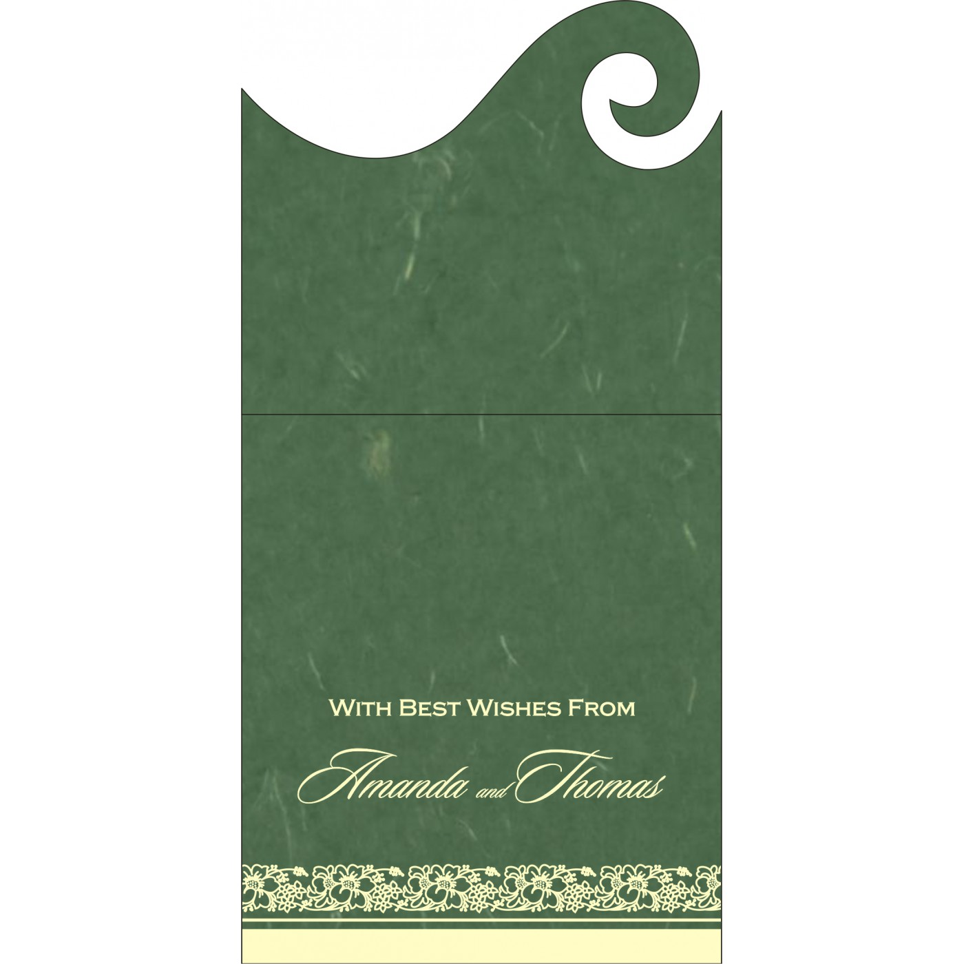 Money Envelopes : ME-8207L - 123WeddingCards