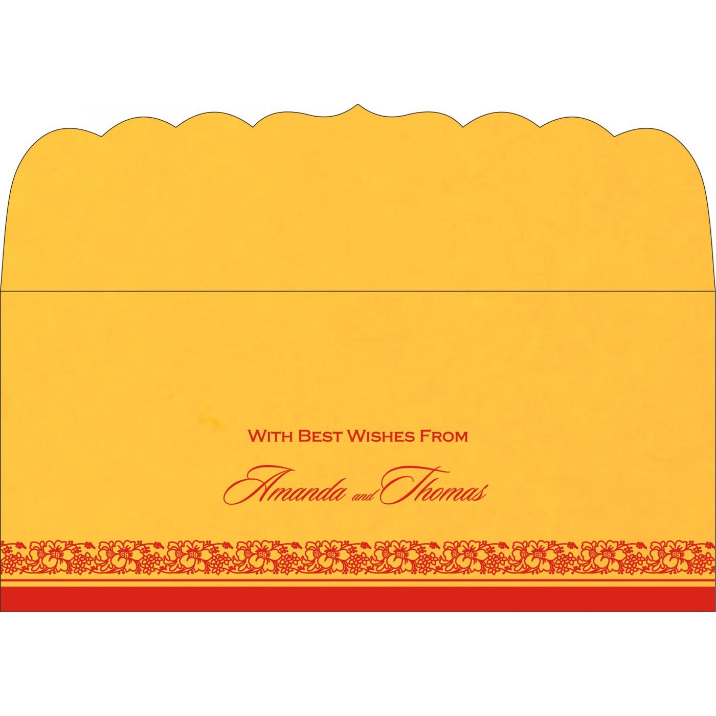 Money Envelopes : ME-8207O - 123WeddingCards