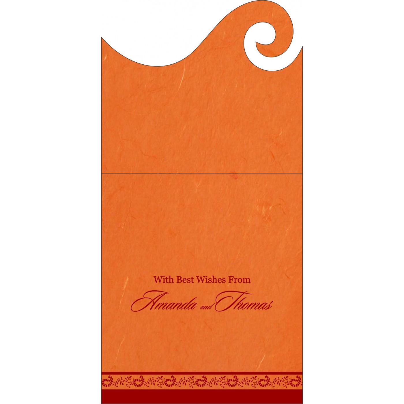 Money Envelopes : ME-8208G - 123WeddingCards