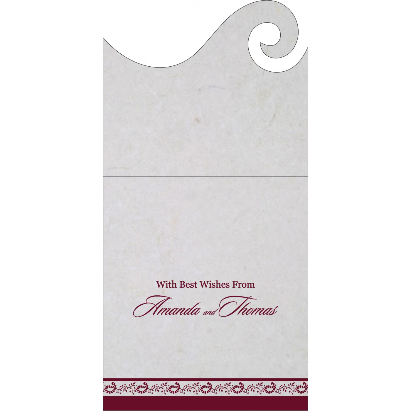 Money Envelopes : ME-8208I - 123WeddingCards
