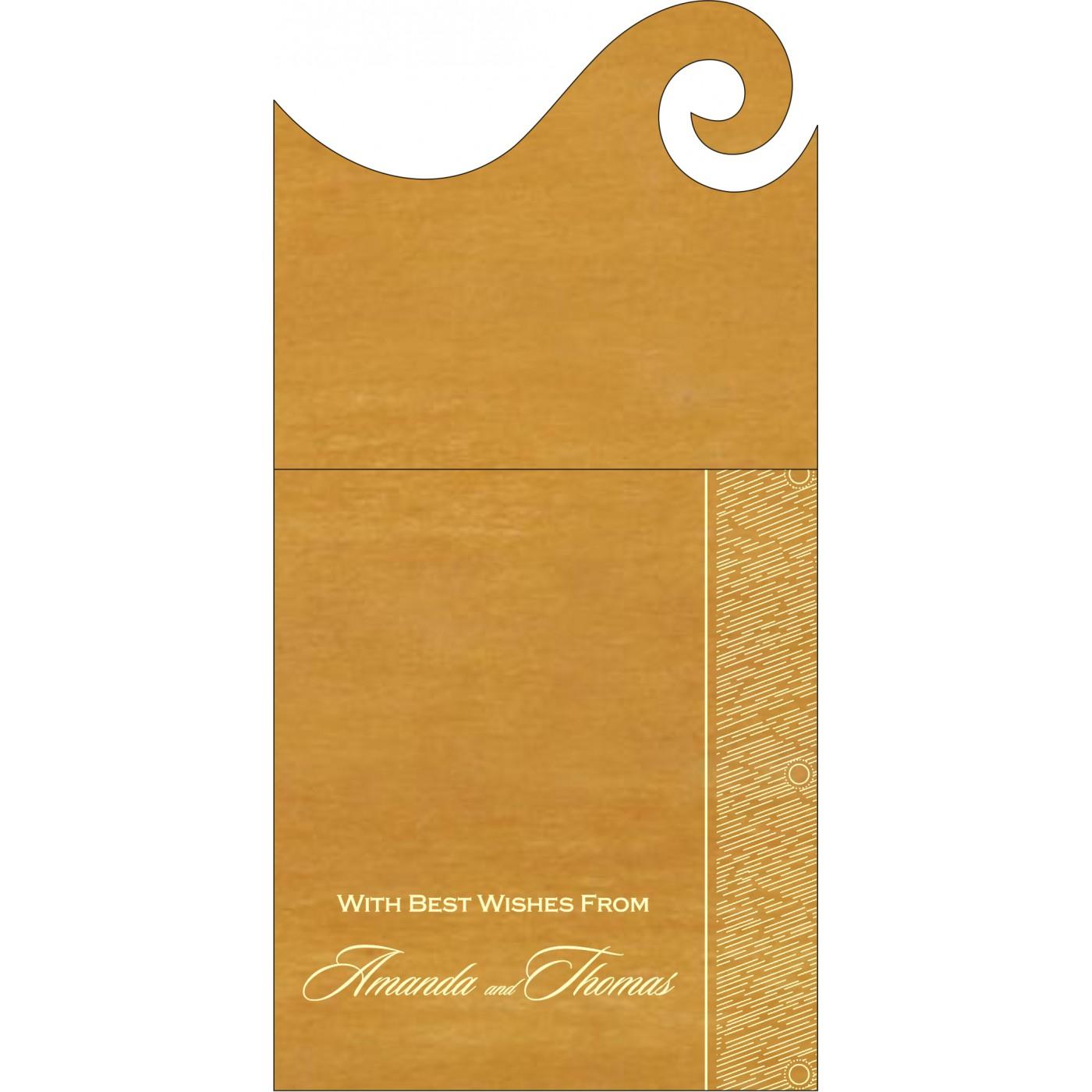 Money Envelopes : ME-8209B - 123WeddingCards