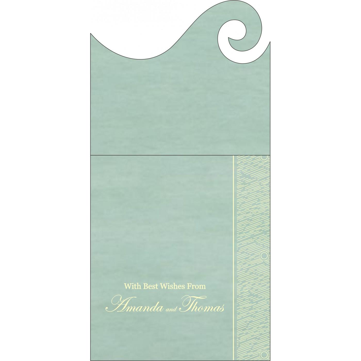 Money Envelopes : ME-8209F - 123WeddingCards