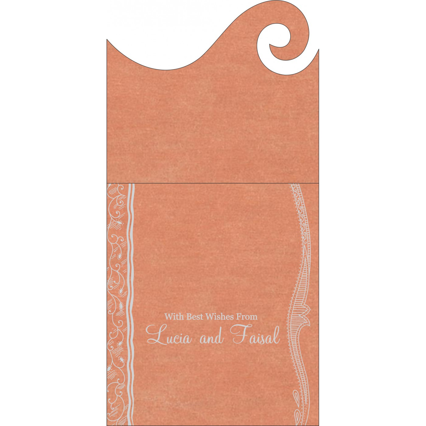 Money Envelopes : ME-8210M - 123WeddingCards